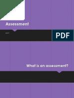 assessment power point