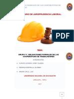 Obligaciones Formales de Las Cooperativas de Trabajadores