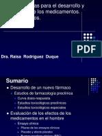1.Bases Científicas Para El Desarrollo y La Utilización de Los Medicamentos.ensayos Clínicos