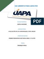 Evaluacion de Los Aprendizajes Pedro Inoa