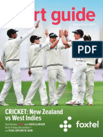 In-room Guides Sports