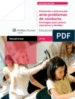 Prevencion e Intervencion Ante Problemas de Conducta