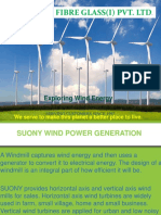 Suony Wind Mill Presentation