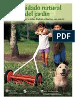 Natural Yard Care Brochure Spanish