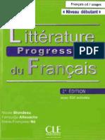 Littérature Progressive Du Français_Débutant