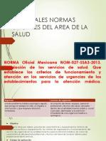 PRINCIPALES-NORMAS-OFICIALES-DEL-AREA-DE-LA-SALUD.pptx