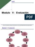 Modulo Evaluacion