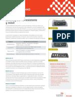 AirLink GX Series Datasheet Spanish