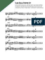 Blues Scale Starter Kit - Clarinet