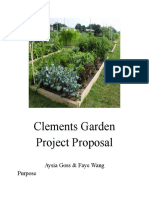 clements garden project proposal