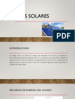 Paneles Solares LA ULTIMA