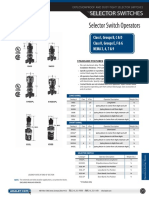 Selector Switch Operators Catalog