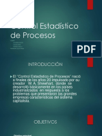 Control Estadístico de Procesos 1