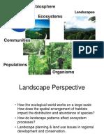 UNIT 2 (LE 1 Landscape Ecology 1)