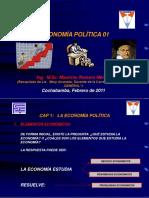 PRESENTACION DE ECONOMÍA POLITICA UMSS