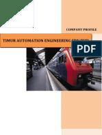 Company Profile -Timur Automation