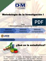 V. Métodos Particulares de Las Ciencias Sociales
