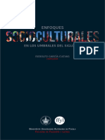 Enfoques Socioculturales en Los Umbrales Del Siglo XXI