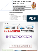 Leasing Financiero Grupo 8