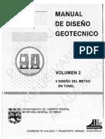 COVITUR - Manual de Diseño Geotécnico Vol 2 Enrique Tamez Enrique Santoyo