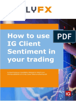 How to Use IG Client Sentiment