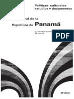 Politica Cultural de Panama 1972