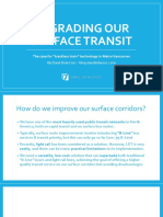 Upgrading our Surface transit