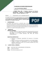 Informe Comision Huancayo - 2017