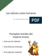 10. Ley Natural y Actos Humanos