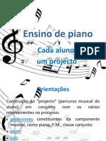 Ensino de Piano-Apresentação