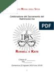 Libretto Matrimonio _ Sample