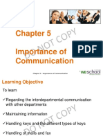 Importance of Communication in Hospitality Industry