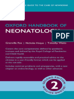 Oxford Handbook of Neonatology