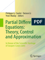 [Alain Bensoussan, Jens Frehse (Auth.), Philippe G, partial differentials equations