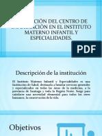 Evaluación Del Centro de Información en El Instituto
