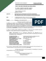 Revision de Liquidacion Tecnica Financiera