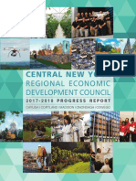 Central NY Regional Economic Development Council 2017-2018 Progress Report