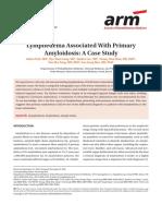 Linfedema Asociado Con Amiloidosis