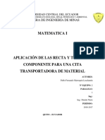 Proyecto Matematica Cinta Transportadora