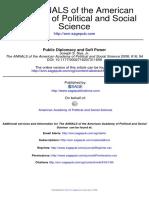 Joseph S. Nye, Jr - Public Dipplomacy and Soft Power