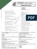 Português - Pré-Vestibular Impacto - Análise de Conteúdo - Texto 16
