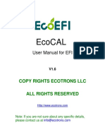 EcoCAL User Manual