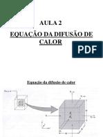 Aula 2 2014- Equação Da Difusão de Calor Lizi