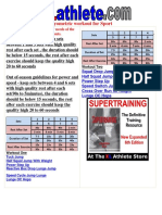 Drill Sheet Various Guideline Plyo Workouts 1478042147098