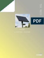 ALIMENTACIÓN DE ENERGÍA SOLAR