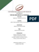Monografía de Obligaciones
