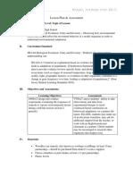lesson plan   assessment - hs-ls4-4