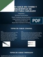 Exposición-Tipos de Cable de Cobre y Herramientas de (1)