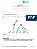 5.3.1.3 Packet Tracer - Identify MAC and IP Addresses (1)