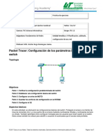 2.2.3.4 Packet Tracer - Configuring Initial Switch Settings (1)